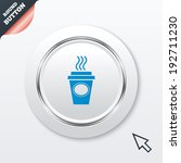 take a coffee sign icon. hot...