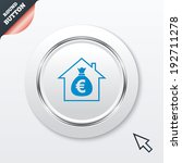 mortgage sign icon. real estate ...