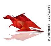 illustration of abstract... | Shutterstock .eps vector #192711959