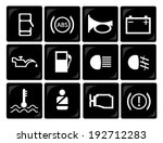 car dashboard icons | Shutterstock .eps vector #192712283