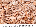 Small Pile Of Wood Chips...