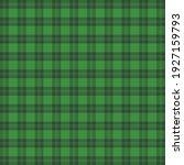 st. patricks day tartan plaid....   Shutterstock .eps vector #1927159793