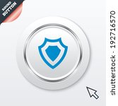 shield sign icon. protection...