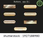 web buttons gold gradient...