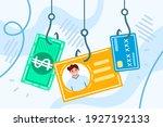phishing. hacking account.... | Shutterstock .eps vector #1927192133