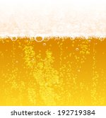 background beer with foam and... | Shutterstock .eps vector #192719384
