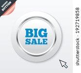 big sale sign icon. special...