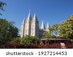 View Of The Salt Lake Temple...