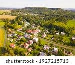 Aerial View Of Konstantinovy...