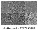 set of six monochrome turing...