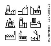 factory icon or logo isolated... | Shutterstock .eps vector #1927255826