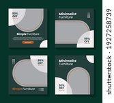 furniture minimalist social... | Shutterstock .eps vector #1927258739