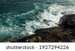The Powerful Green Sea Waves...