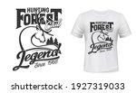 Deer Hunting Club T Shirt Print ...