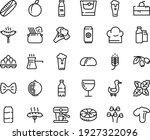 food line icon set   cherry... | Shutterstock .eps vector #1927322096