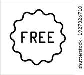 free vector label illustration... | Shutterstock .eps vector #1927326710