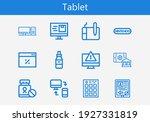 premium set of tablet line...