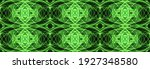 Green Abstract Fractal Pattern  ...