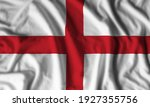 England flag realistic waving for design on independence day or other state holiday