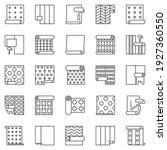 wallpaper outline icons set....   Shutterstock .eps vector #1927360550