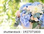 Large Bouquet Of Roses  Dahlias ...