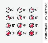 timer  clock  stopwatch....   Shutterstock .eps vector #1927395920