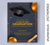Luxury Graduation Party Poster...