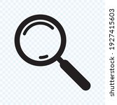 search icon. magnifying glass... | Shutterstock .eps vector #1927415603