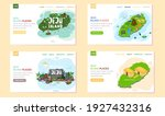 welcome to jeju island in south ... | Shutterstock .eps vector #1927432316