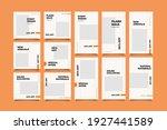 minimalist social media post... | Shutterstock .eps vector #1927441589
