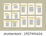 minimalist social media post... | Shutterstock .eps vector #1927441616