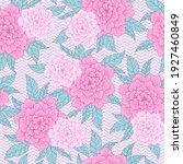 floral seamless pattern ... | Shutterstock .eps vector #1927460849