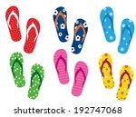 flip flops | Shutterstock .eps vector #192747068