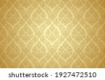 thai art and asian style luxury ... | Shutterstock .eps vector #1927472510