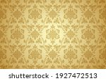 thai art and asian style luxury ... | Shutterstock .eps vector #1927472513