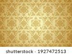 thai art and asian style luxury ... | Shutterstock .eps vector #1927472513