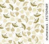 seamless simple pattern. green... | Shutterstock . vector #1927509689