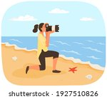 Woman Is Making Photo Of...
