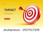 target landing page  banner...   Shutterstock .eps vector #1927517339