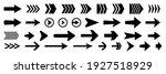 set of new style black vector... | Shutterstock .eps vector #1927518929