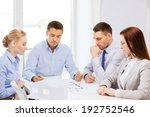 business  architecture and... | Shutterstock . vector #192752546