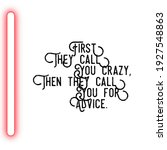 smile attitude quote with white ... | Shutterstock . vector #1927548863