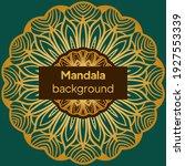 floral mandala   the sacred... | Shutterstock .eps vector #1927553339