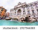 The Trevi Fountain  In Italian  ...