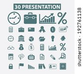 30 business  marketing ... | Shutterstock .eps vector #192761138