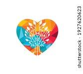 tech tree vector logo design... | Shutterstock .eps vector #1927620623