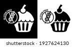 vector image. gluten free... | Shutterstock .eps vector #1927624130