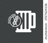 vector image. icon of a gluten... | Shutterstock .eps vector #1927624136