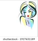 vector handmade fashion digital ... | Shutterstock .eps vector #1927631189