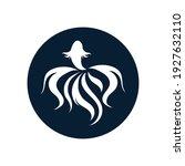 betta fish logo vector... | Shutterstock .eps vector #1927632110